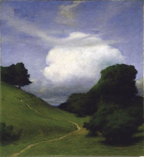 Nordic Attic: Summer clouds - in Nordic paintings