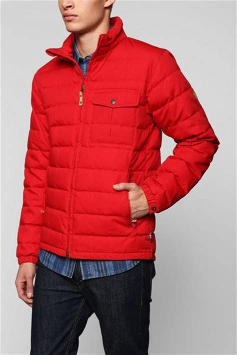 Urban Outfitters Fjallraven Ovik Lite Jacket in Red for
