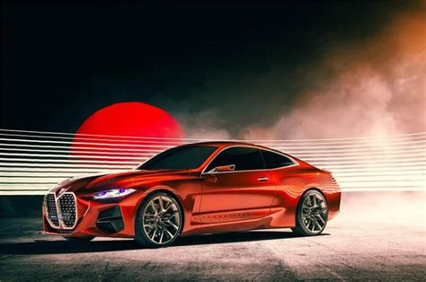 BMW Concept 4 Series Coupe Unveiled at 2019 Frankfurt