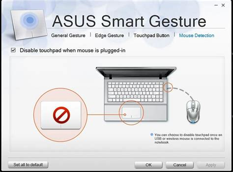 Disabling g750jm touch pad