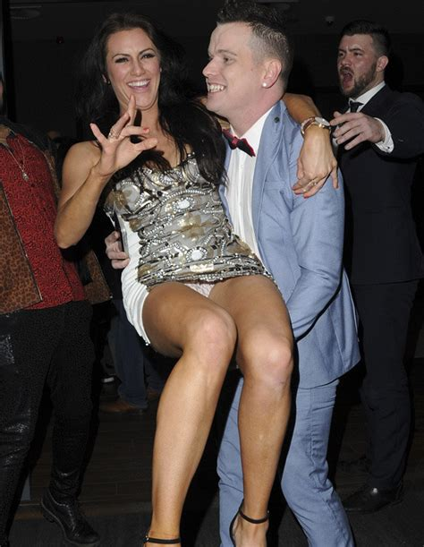 Celebrity Big Brother: Jessica Cunningham flashes knickers