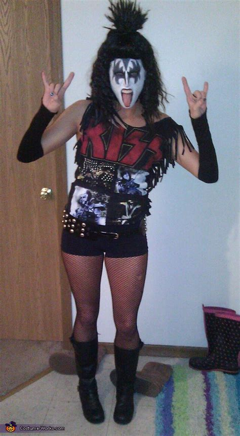 Homemade KISS Adult Costume | DIY Costumes Under $65