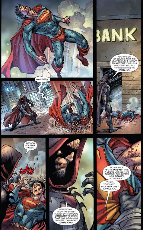 Zod Tortures Superman (Earth 1) | Comicnewbies