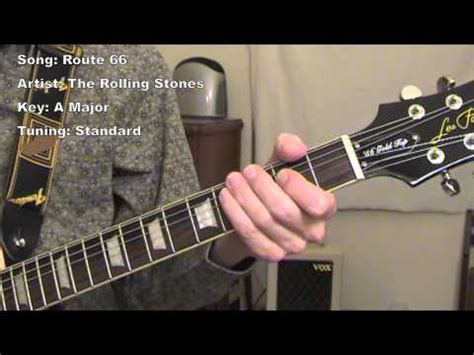 Route 66 - Guitar Lesson - YouTube