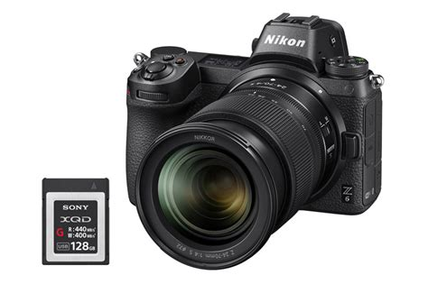 Best XQD Memory Cards for Nikon Z7 and Z6 - Mirrorless Cameras