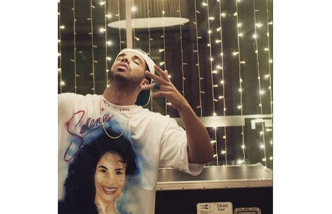 Drake Loves Selena So Much He Airbrushed Her Face on a