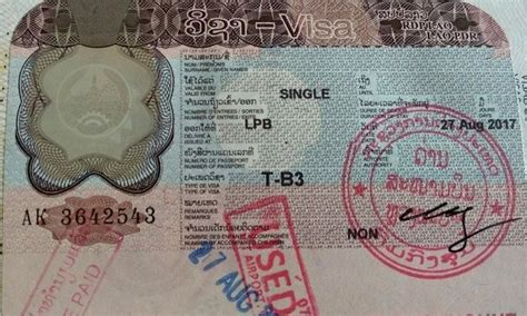 Guide to Laos Visa on Arrival, Embassy, Visa Fee & Extension