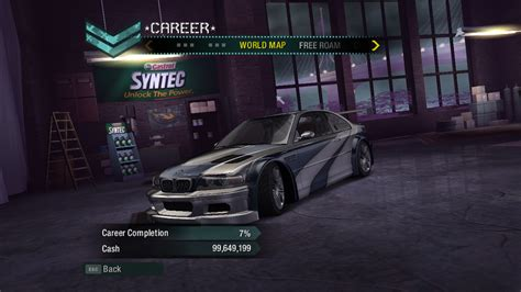 Need For Speed Carbon BMW M3 GTR in Career Mode | NFSCars