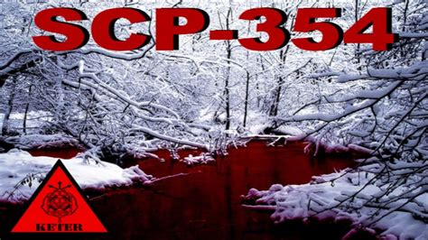 SCP-354 [Blood Pond] - SCP Files - (Dr