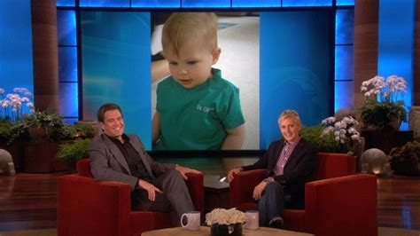 Michael Weatherly's Daughter Turns 1 - YouTube