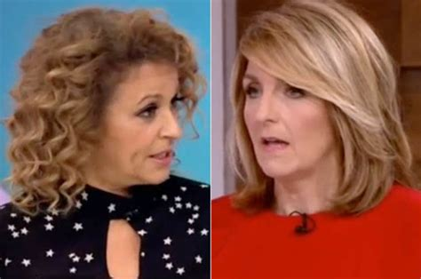 Loose Women cast: Nadia Sawalha admits being upset with