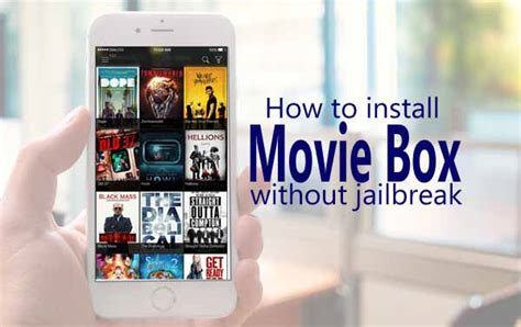 Download & Install Movie Box without Jailbreak iPhone,iPad