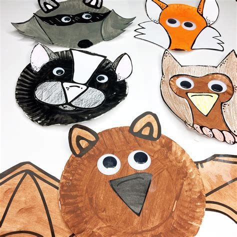Nocturnal Animal Crafts and Books - Keeping Up with Mrs