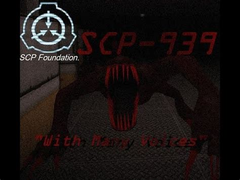 """SCP-939 - """"With Many Voices"""" SCP File - (Dr Cool/ Class"""
