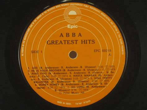 """ABBA : """"Greatest hits"""" - View all Vinyl Records"""